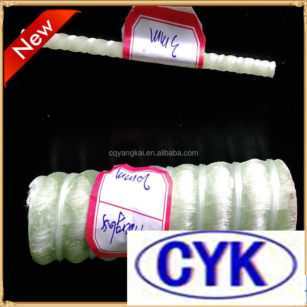 Diferentes di metros de barras de refuerzo de fibra de - Barras de fibra de vidrio ...