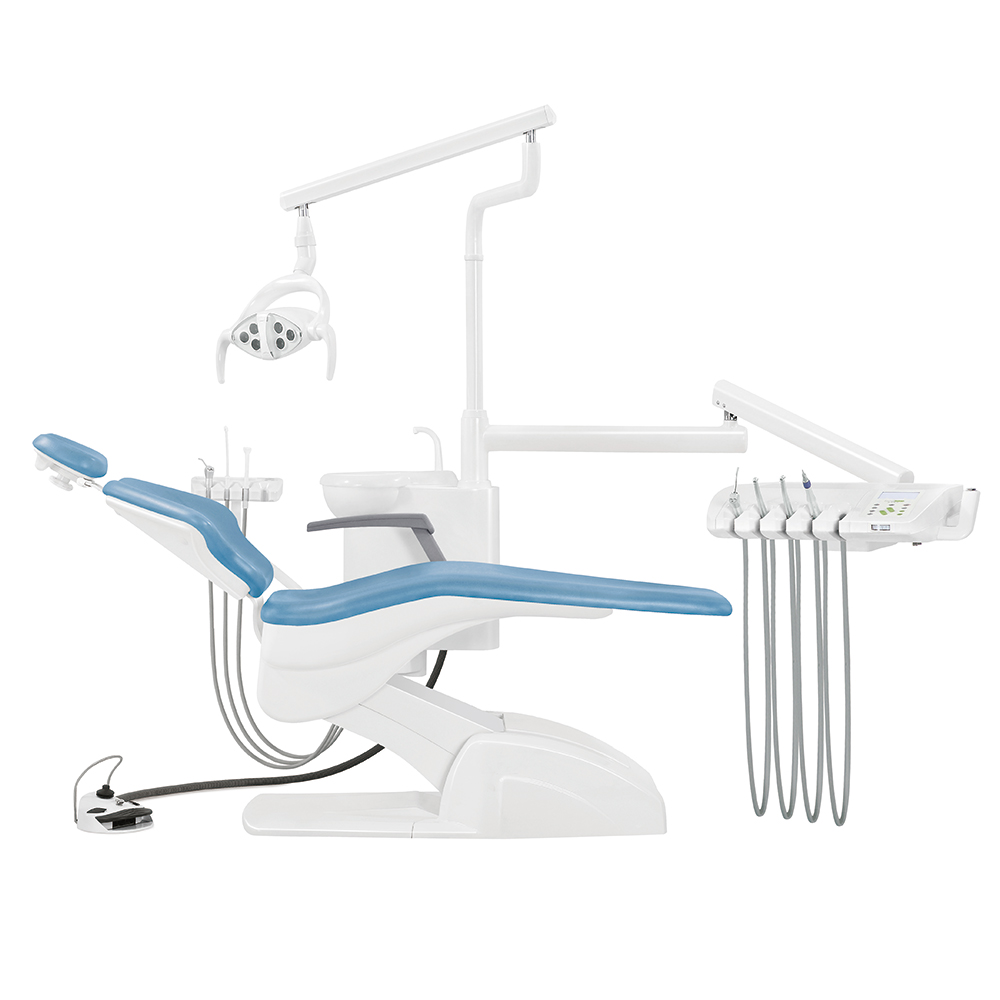 CE approval Detal clinic dental unit chair dental chair unit size Warranty CE certificated