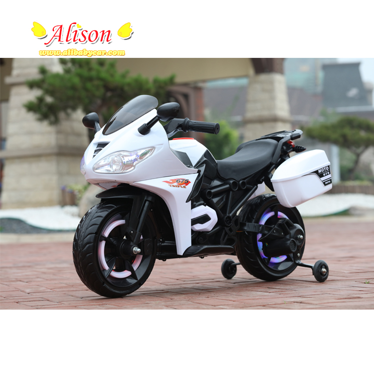 6V*7Ah Battery high quality 380w*2 motor normal tire kids electric motorcycle