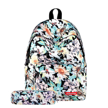 high quality 600D polyester sublimation custom made fashionable women backpack bag school