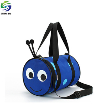 f429d9a6d22a Wholesale custom make cheap cute small kids polyester duffle bag with custom  logo