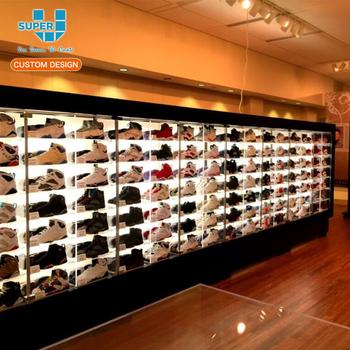 Cina All'ingrosso Scarpiera Armadio Scarpe Negozio Vetrina Display Rack Cabinet Scarpa Di Legno Design Moderno Buy Scarpe Display Cabinet,Scarpiera