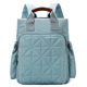 cheap top rated cute blue polyester baby boy big diaper bag tote backpack diaper bags for moms