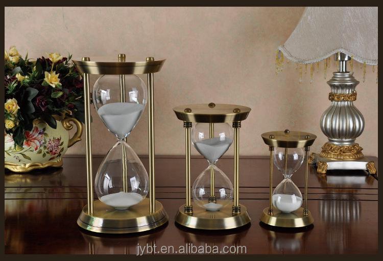sand hourglass gifts for wedding & graduation students