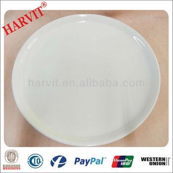 ceramic white pizza plate stock  sc 1 st  Changsha Harvit Ceramic Co. Ltd. - Alibaba & ceramic white pizza plate stock View pizza plate HARVIT Product ...