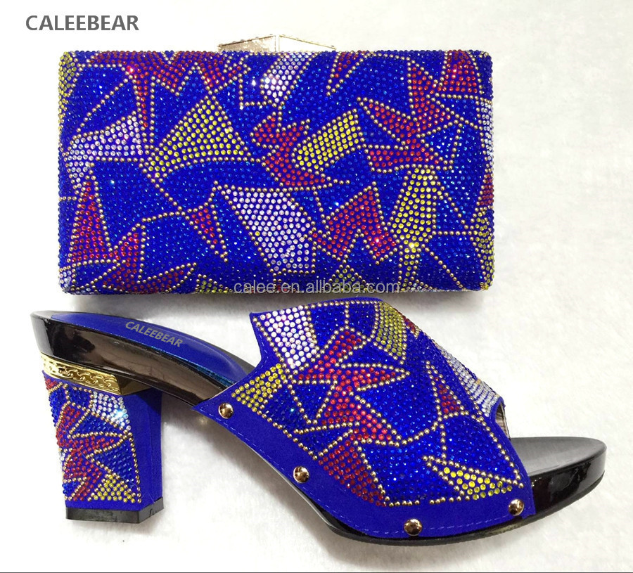 african bags 43 and bag 37 sets shoe heel Big Mid for match heels wedding to shoes size women nxHt6q8w7z