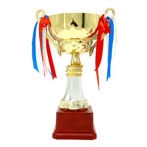 High quality custom sport trophy gold cup 3d trophy