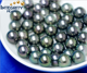 10-11mm AAA grade best quality big peacock black natural real Tahitian south sea pearl