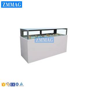 commercial display cake or chocolate refrigerator showcase