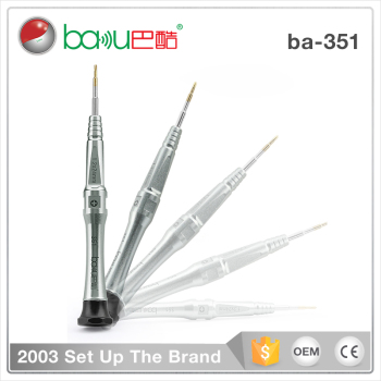 Hot selling BAKU 351 New Mini Precision y-type Phillips Screwdriver Bits For Mobile Phone Repairing