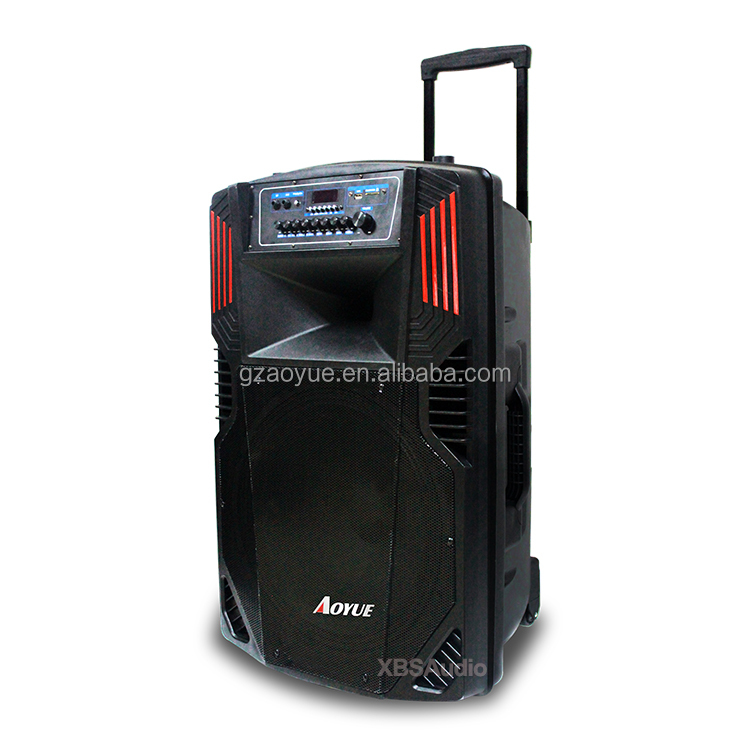 portable outdoor stage party system professional New Design Rechargeable DJ Bass Subwoofer Speaker 18inch