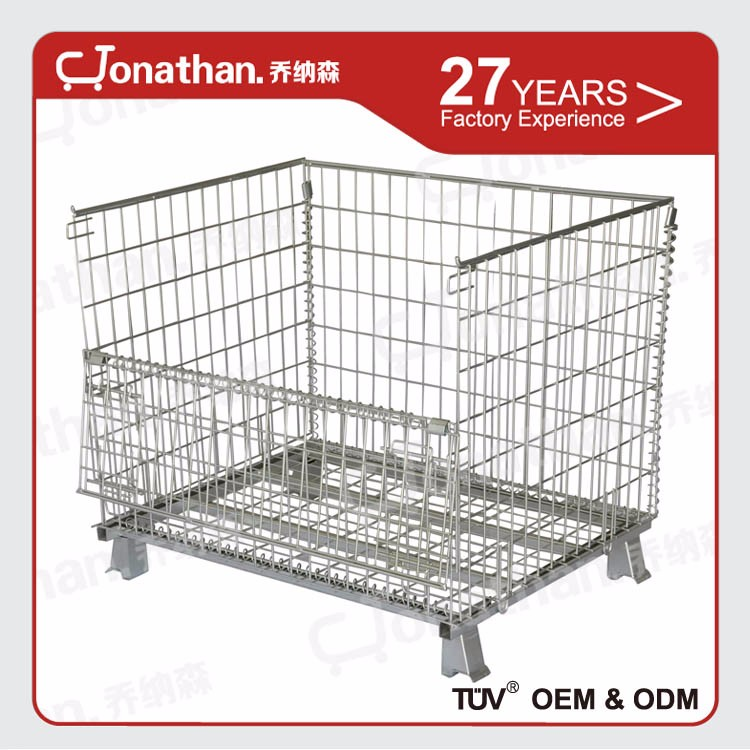 SXL-A high quality foldable large storage metal pallet cage
