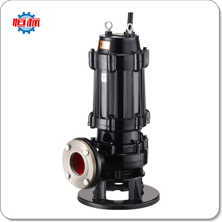 Hengbiao WQ Series IP68 low prices sewage waste high capacity electric motor submersible water pump