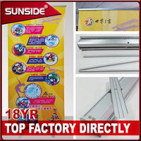 Outdoor advertising banners stand suppliers Pull up banner stand CH-1.15