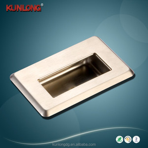 SK4-028 Industrial Zinc Alloy Flushbonading Concealed Cabinet Door Handle