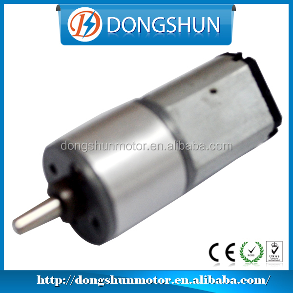 16mm DS-16RS030 10mm DC brush small gear motors for mobile phone, pager, small toys