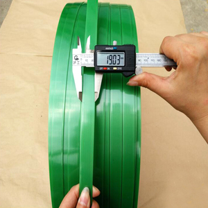 green clear 19mm manual packing printed PET Strap