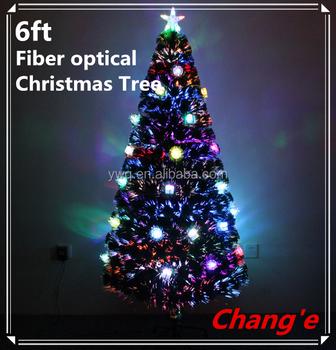 180cm musical fiber optic christmas tree outdoor led xmas tree - Led Fiber Optic Christmas Tree