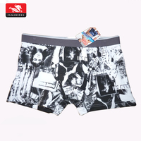 2019 new design free sample seamless men underwear boxer shorts