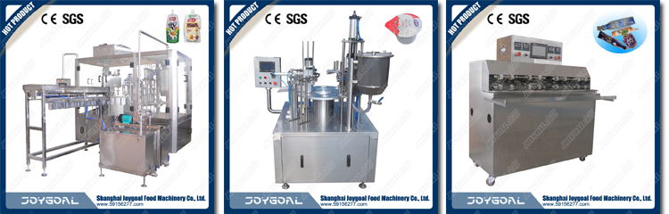Shanghai dependable performance juice/water/yogurt cup fill machine