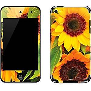 Flowers iPod Touch (4th Gen) Skin - Bouquet of Sunflowers Vinyl Decal Skin For Your iPod Touch (4th Gen)