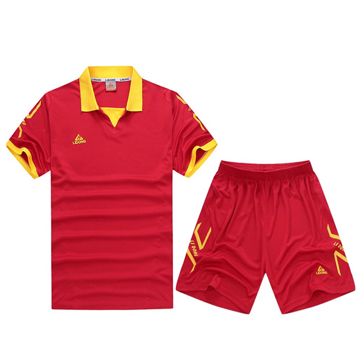 New Design Wholesale Cheap Custom Football Jersey Soccer Uniforms Soccer Jersey In China, Red;blue;yellow;white;green