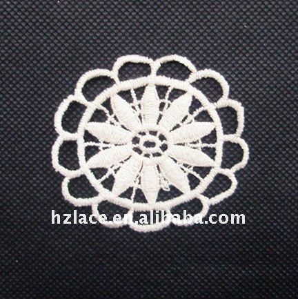Hot selling embroidery motif lace