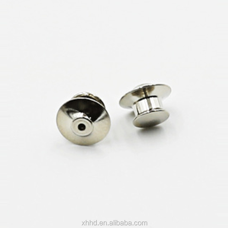 fbdfc4910b3a DIY Brooch Round Clasps Pin Tie Tacks Blank Pins with Clutch Back Sliver