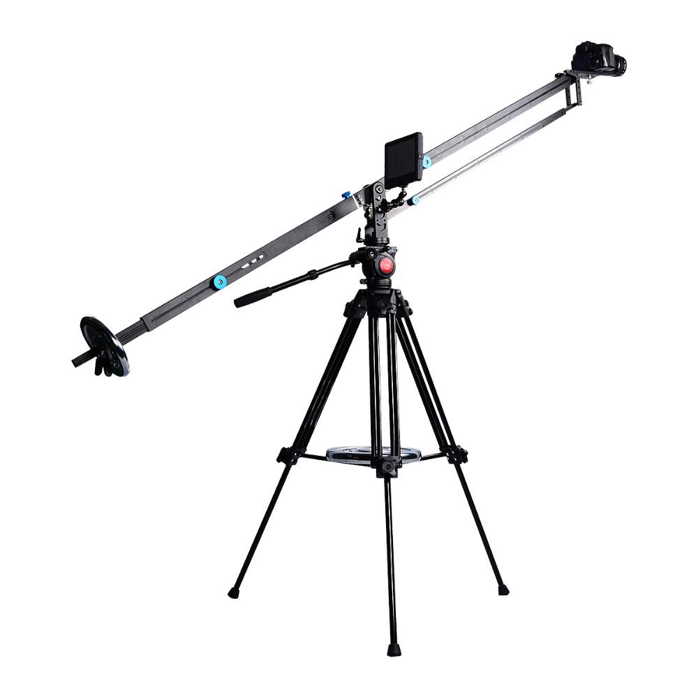 YELANGU Alüminyum Alaşım 3 m Kamera Vinç Pergel DSLR Kamera için