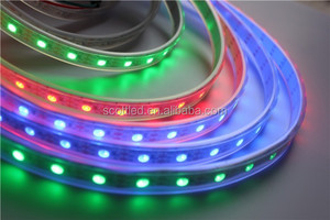 Waterproof WS2811 multi color led lights strip ws2811 led pixel strip ip67 led strip lights WS2811 digital led lights