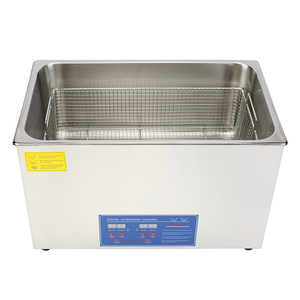 FDA Stainless Steel PS-AD Series Dual-frequency/degassing series ( 28 KHZ / 40 KHZ ) ultrasonic cleaner