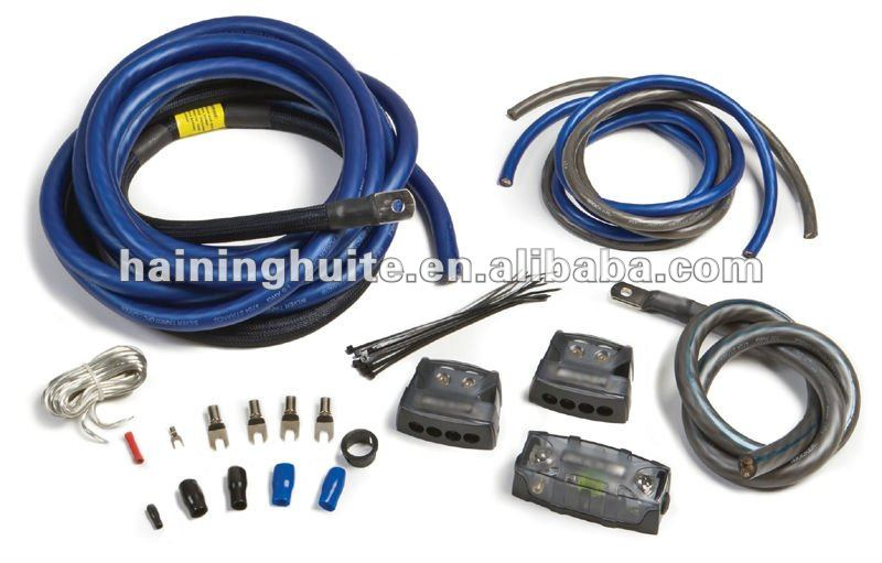 Car Audio Cable For Amplifier Wiring Kit Buy Car Amplifier Wiring