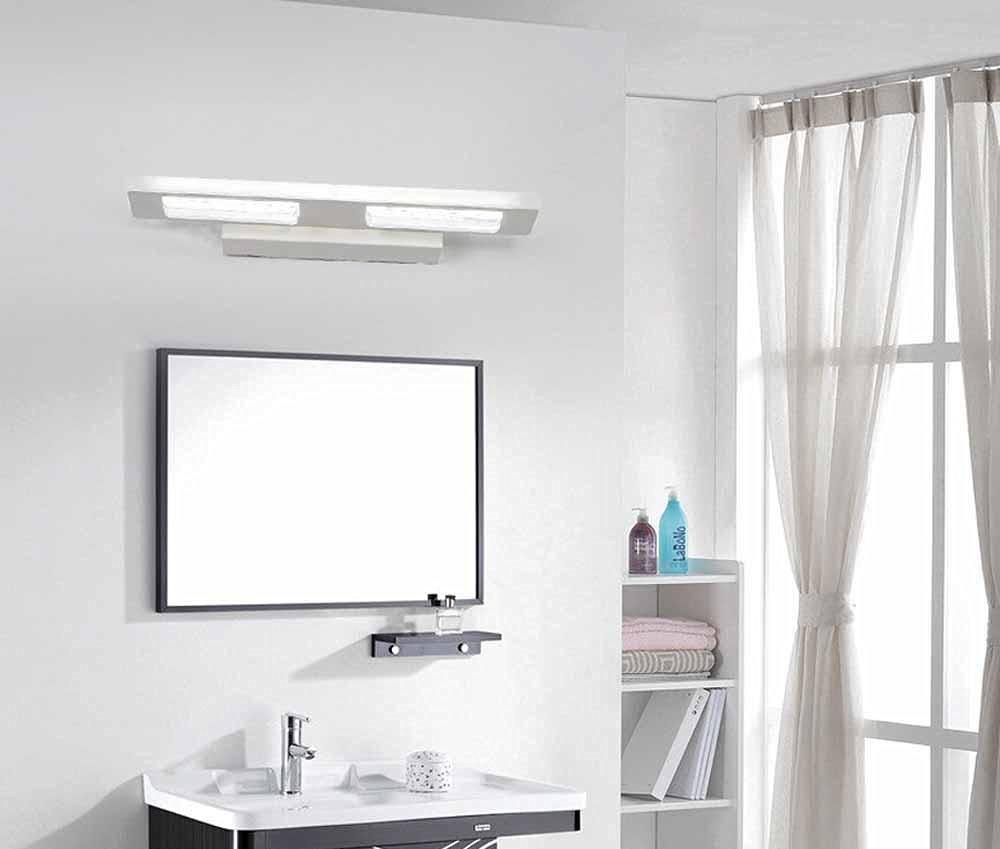 UZI-Modern minimalist bathroom waterproof lights, bathroom toilet wall, make up mirror lights white