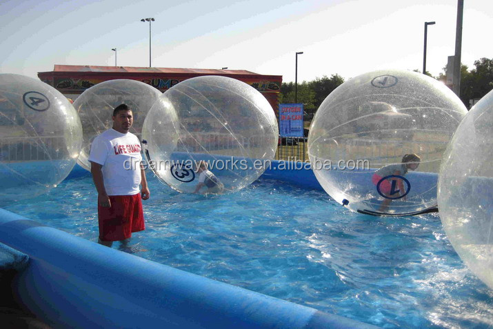 Water Climb Ball/pvc Bubble Roller/inflatable Water Walking Ball ...