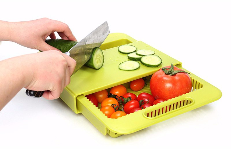 Cutting Board Food Constainer Storage Cut For Kitchen ...