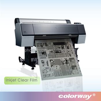Manufacturer Inkjet Transparency Film for inkjet printer, View inkjet  transparency film, Colorway / OEM Product Details from Nanjing Colorway  Digital