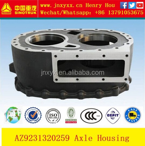 Production original and aftermarket all Sinotruk Howo spare parts AZ9231320259 HC16 Axle Housing