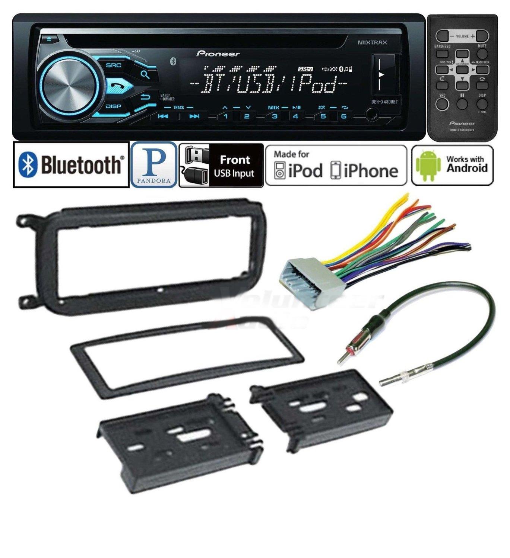 Buy Pioneer Car Stereo Radio Bluetooth Cd Player Dash Install Mount
