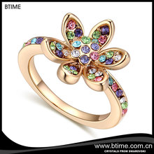 China Factory Direct Wholesale Cooper Alloy Ring Jewelry Micro Pave CZ Women Ring Jewelry