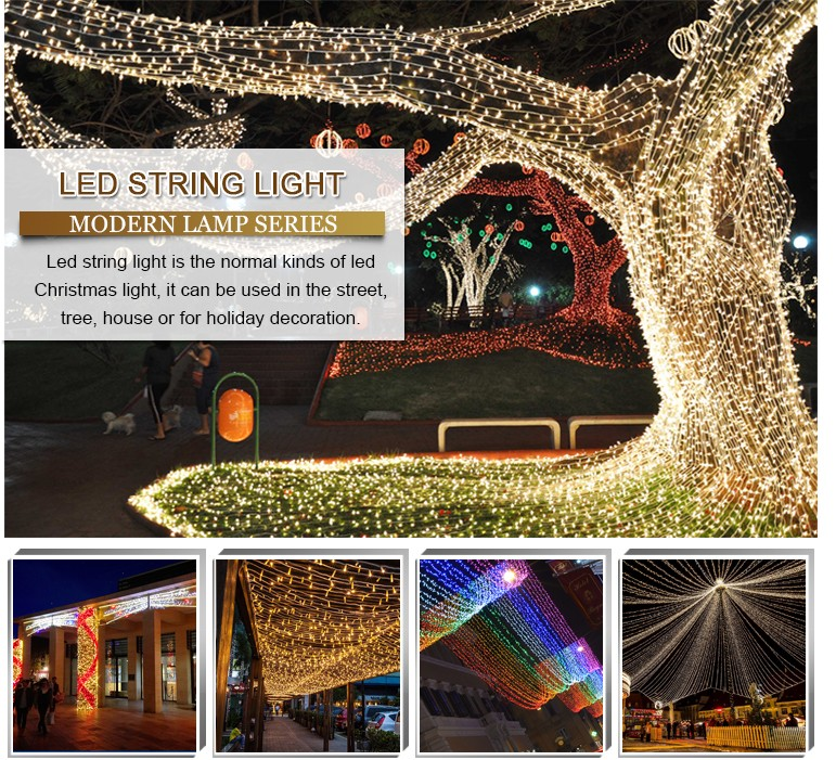 2017 Outdoor Use Moving String Chain Led Christmas Light