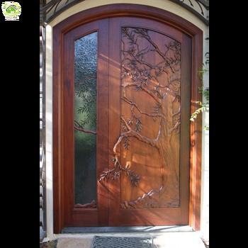 Italian Solid Wood Exterior Double Swing Arch Doors Buy Italian