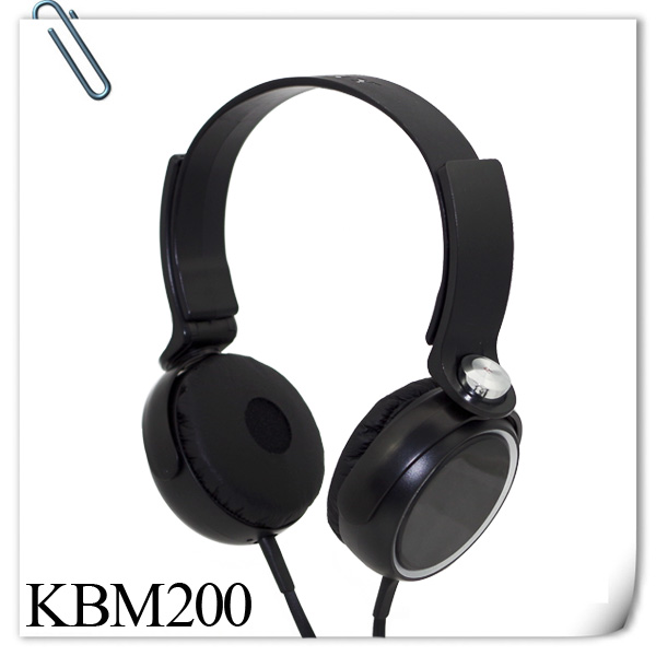 KUBE KBM-200 OEM Sports flat wire headphone for Samsung,MP3 MP4,PC,Laptop