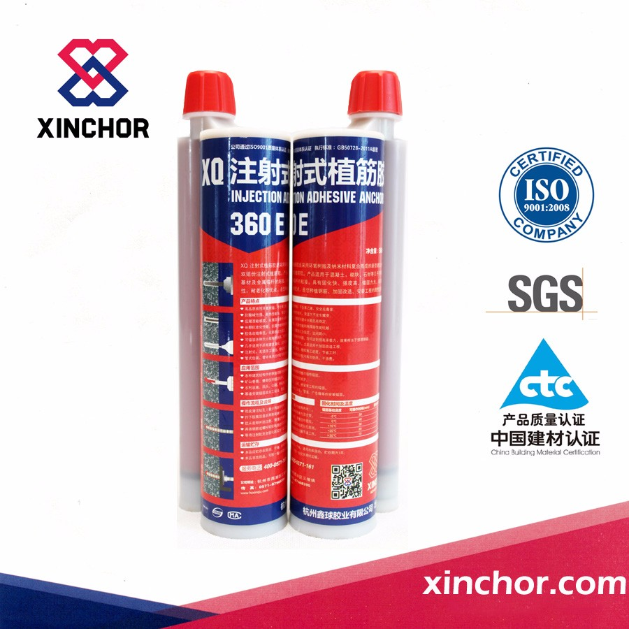 two component high bond epoxy injection adhesive for masonry