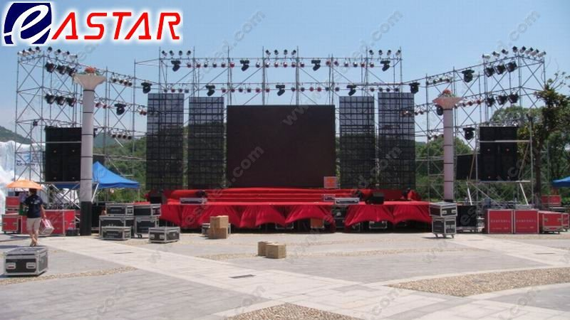 P18.75 full color outdoor LED transparent display