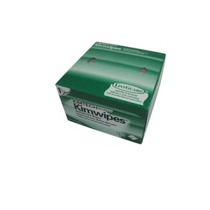 Kimwipes optical fiber cleaning papers fiber dust-free paper Kimtech kim wipes