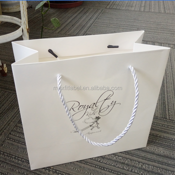 china factory custom made paper bags with your own logo for food