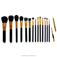OEM handmade your own brand magnetic make up cosmetics brushes