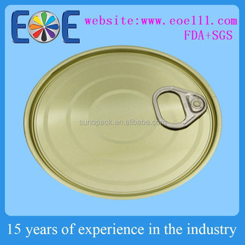 603 Tuna Fish Can Lid,153.4mm Tomato Paste Lid,Tinplate Easy Open ...