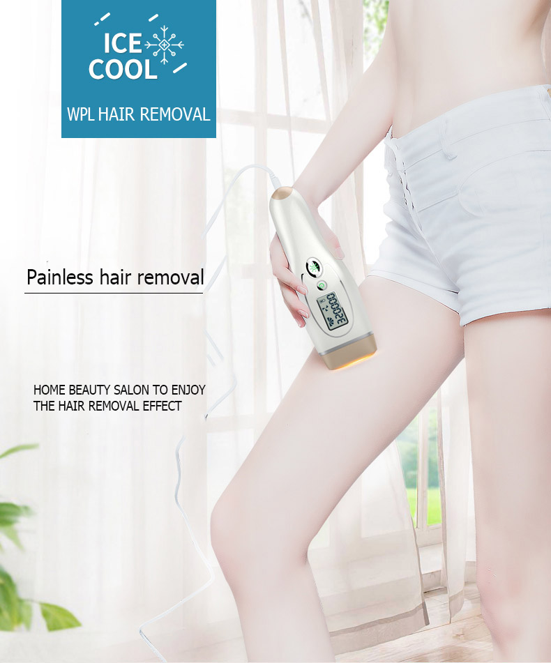 Authentic Bosidin Household Laser epilater ice cool IPL Hair Removal Machine