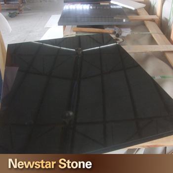 Newstar Chinese Polished Black Nero Assoluto Granite - Buy Nero ...
